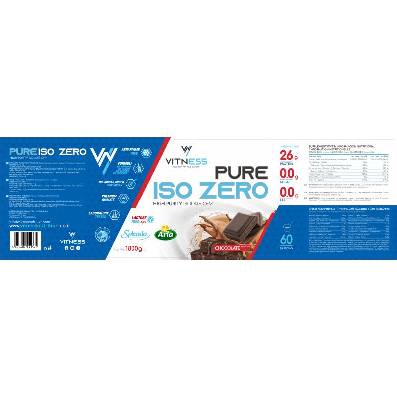 VITNESS PURE ISO ZERO 1,8KG